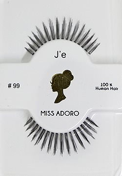 Miss Adoro False Eyelashes #99 (Josie)