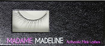 100% Authentic Mink Strip Eyelashes (#001)
