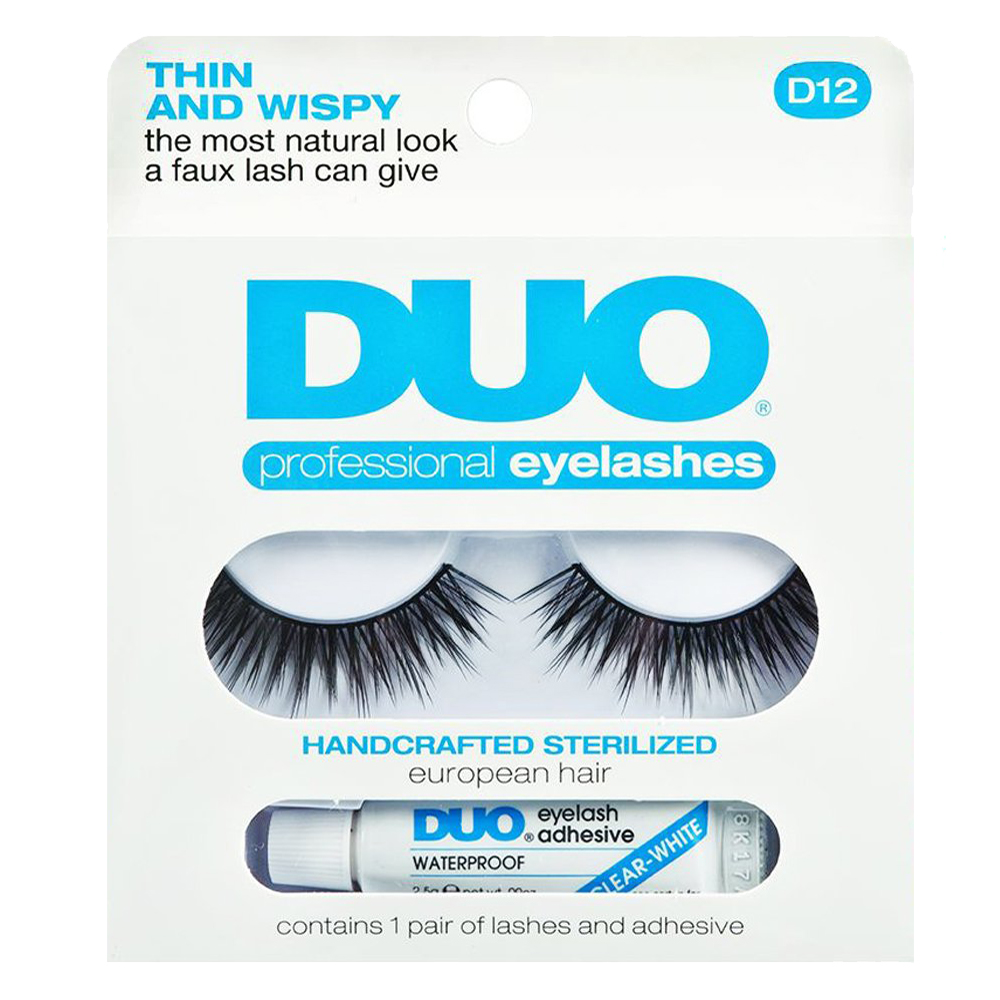 DUO Professional Eyelashes D12