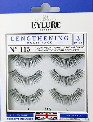 Eylure Lengthening Multi Pack Eyelashes No. 115