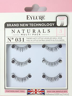 Eylure Natural Multi Pack Eyelashes No. 031