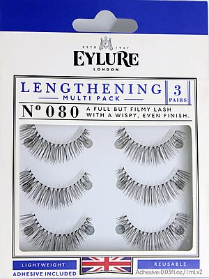 z.Eylure Naturalites LENGTHENING TRIPLE PACK N° 080