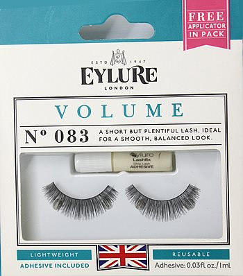 a39140e9f85 Eylure Naturalites VOLUME Lashes N° 083, Eylure Strip Eyelashes - Rebrand  Packaging - Madame Madeline Lashes