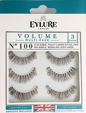 c4e6b96c7ae Eylure Naturalites VOLUME TRIPLE PACK N° 100, Eylure Strip Eyelashes -  Rebrand Packaging - Madame Madeline Lashes