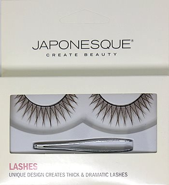 .JAPONESQUE Eyelashes BROWN