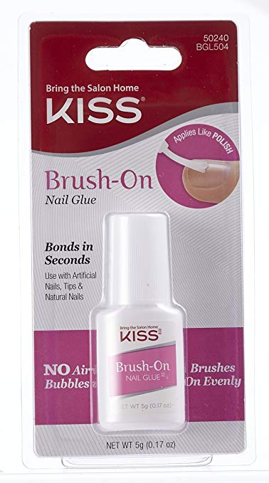KISS Lightning Speed Brush-On Nail Glue 5g