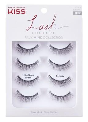 KISS Lash Couture Faux Mink Multi 01 - Little Black Dress (KLCM01)