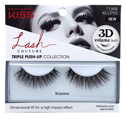 Kiss Lash Couture Faux Mink Triple Push-Up Collection - BRASSIERE Eyelashes