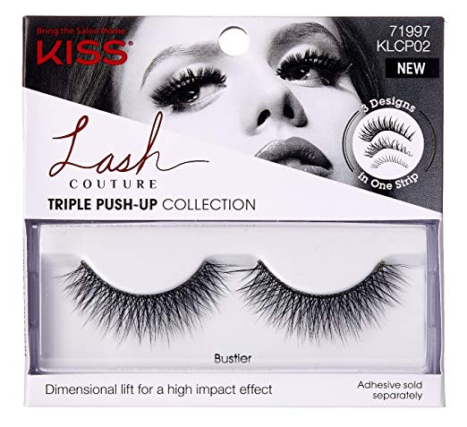 Kiss Lash Couture Faux Mink Triple Push-Up Collection - BUSTIER Eyelashes