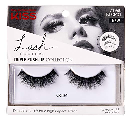 Kiss Lash Couture Faux Mink Triple Push-Up Collection - CORSET Eyelashes