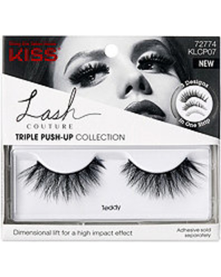 Kiss Lash Couture Faux Mink Triple Push-Up Collection - TEDDY Eyelashes