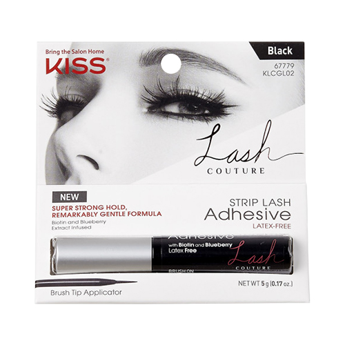 Kiss Lash Couture Strip Lash Adhesive - Black (KLCGL02)