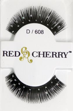 Red Cherry Lashes #D608