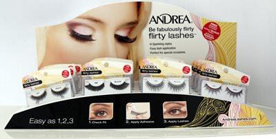 Andrea Flirty Lash 16pc Display (69111)