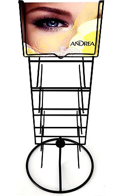 Andrea Lash Counter (EMPTY) Rack Display