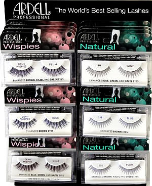 Ardell #110 and Demi Wispies Color Impact 24pc Display