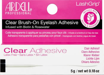 Ardell LashGrip Biotin & Rosewater Strip Adhesive Clear