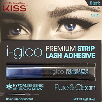 KISS Igloo Strip Lash Adhesive Black (KSLI02)