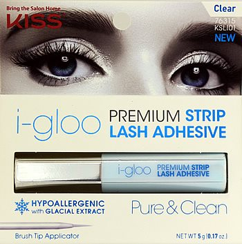 KISS Igloo Strip Lash Adhesive Clear (KSLI01)