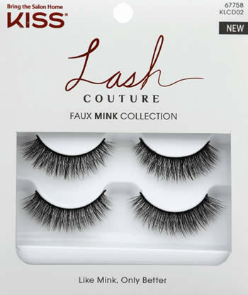KISS Lash Couture Faux Mink Double 02- Soir (KLCD02)