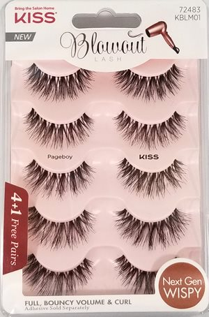 Kiss Blowout Lash Multipack - Pageboy