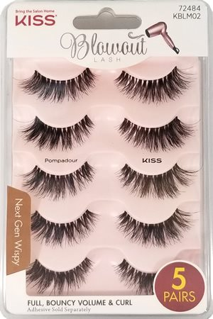 Kiss Blowout Lash Multipack - Pompadour