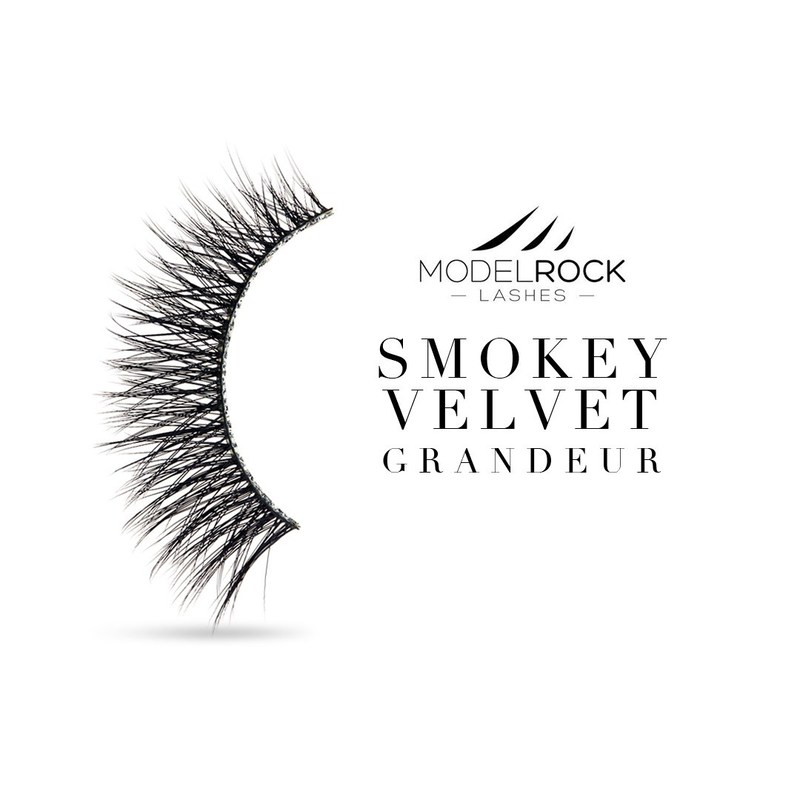 "Modelrock Smokey Velvet ""GRANDEUR"" - Double Layered Lashes"