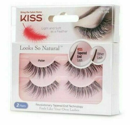 KISS Looks So Natural Lashes Double Pack - Poise