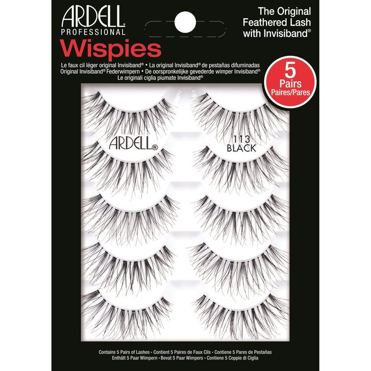 Ardell 5 Pack Lashes #113 Wispies (67516)
