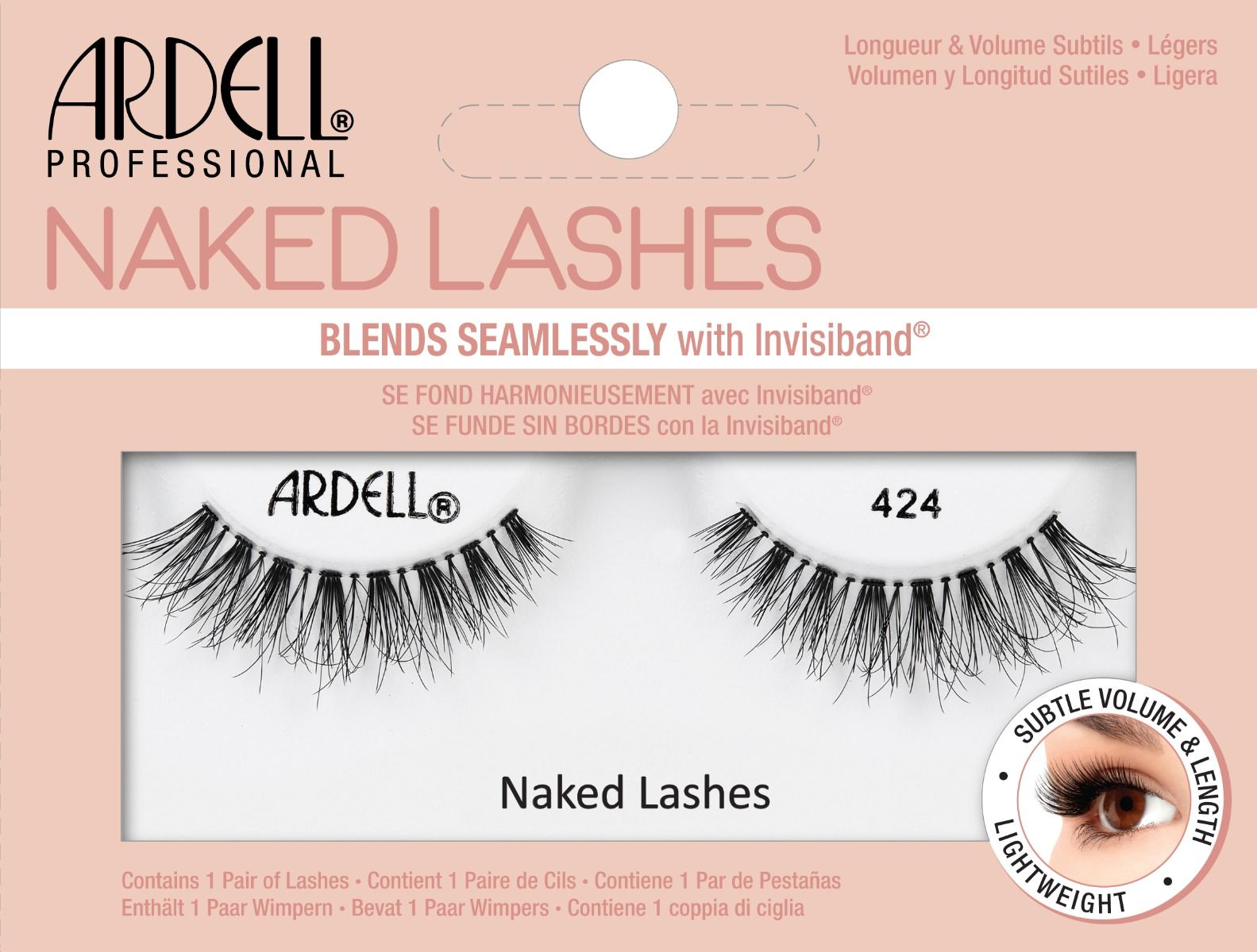 Ardell Naked Lashes 424 (3d Demi)