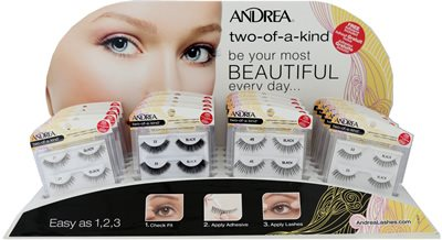 Andrea Two-of-a-Kind w/Free Adhesive 20pc Display (61548)