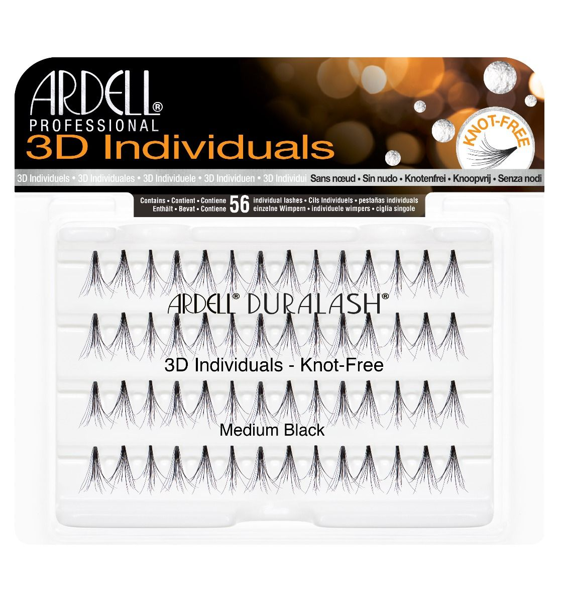 Ardell 3D Individuals Medium Black