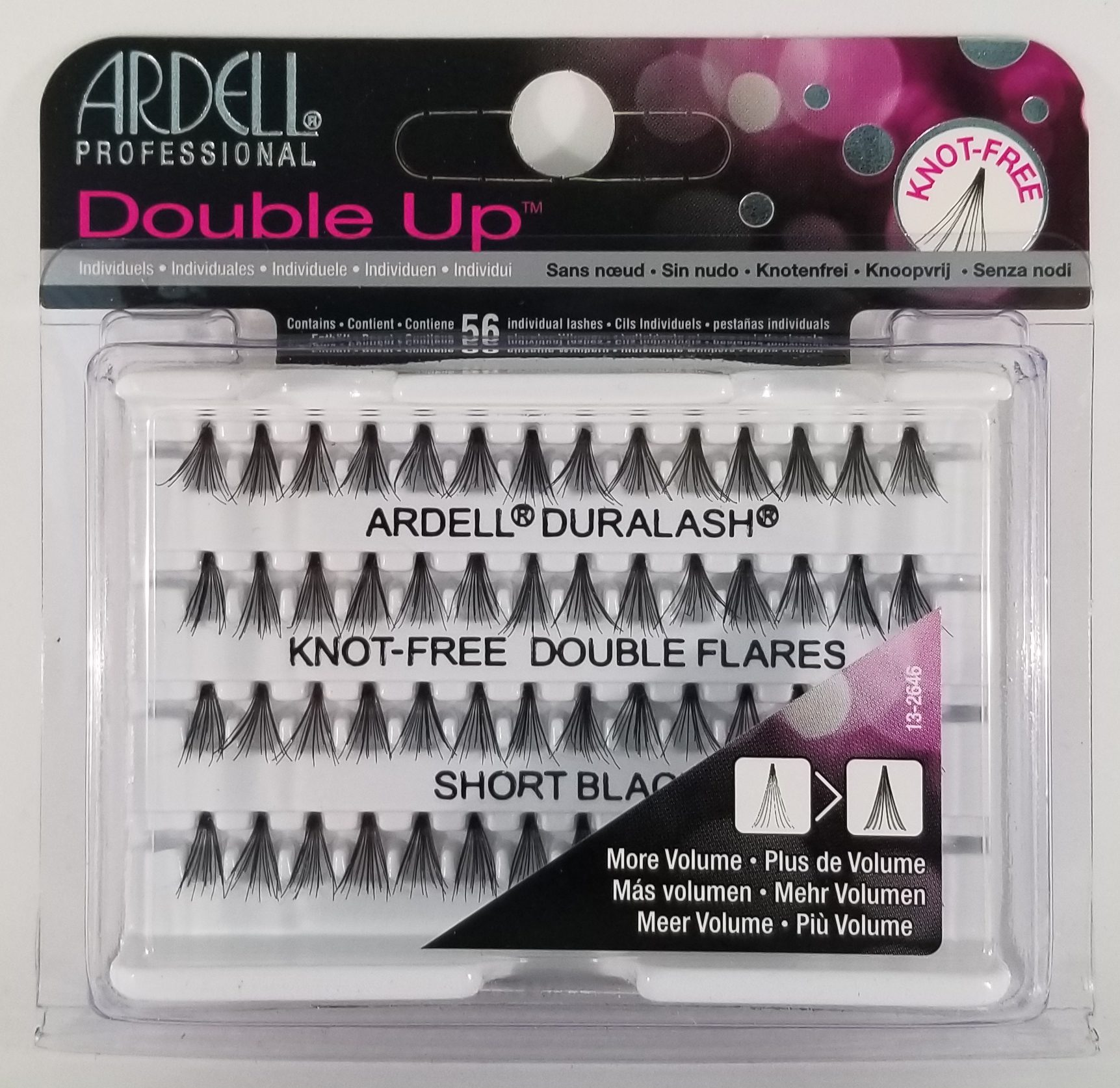 Ardell Duralash Knot-Free Double Individual Lashes Short