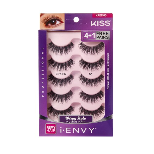 KISS i-ENVY Premium MULTI PACK So Wispy 06