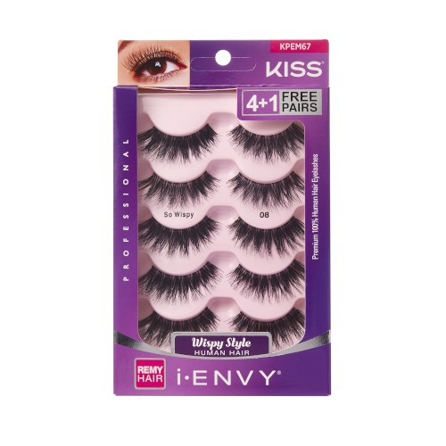KISS i-ENVY Premium MULTI PACK So Wispy 08