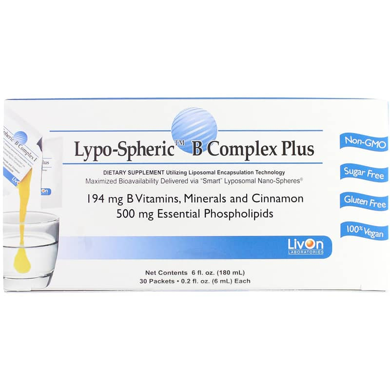 Lypo-Spheric B Complex Plus (1 Carton)