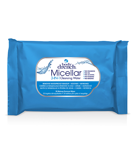 Body Drench Micellar Water 3-IN-1 Wipes