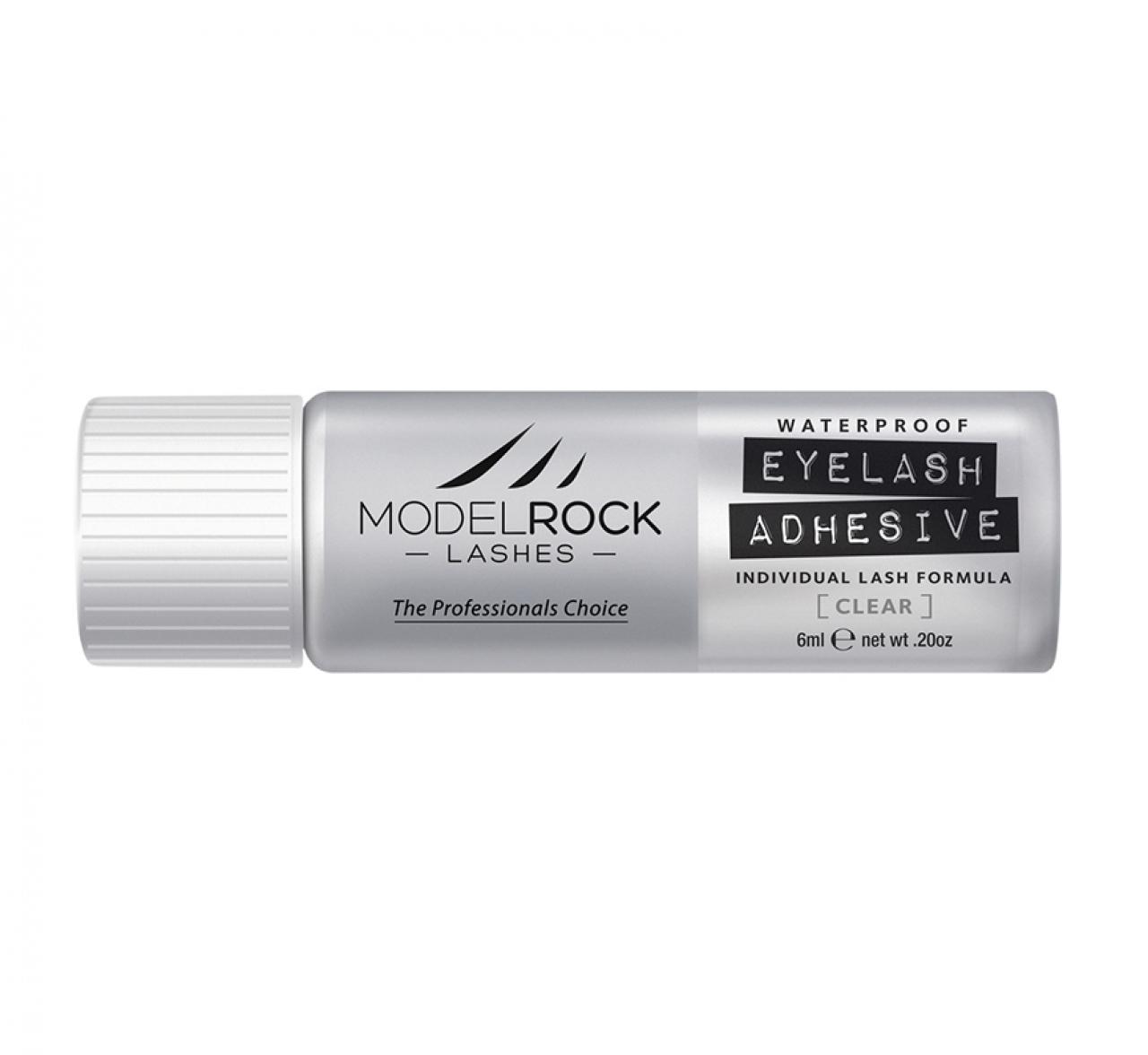 ModelRock Lash Adhesive 6ml Individual Flare Lash Formula - Clear