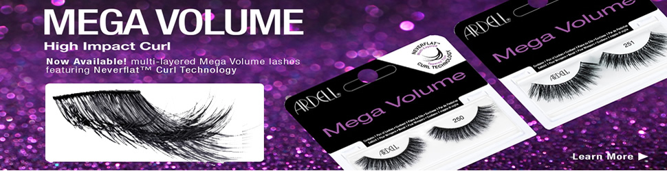 ardell mega volume lashes with mega high impact curl madame madeline lashes