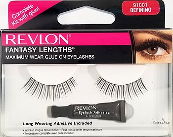 Revlon Fantasy Lengths Glue-On Lashes #501 (91001)