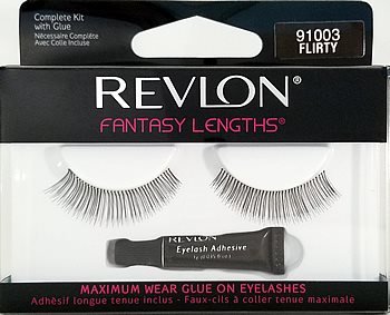 Revlon Fantasy Lengths Glue-On Lashes #503 (91003)