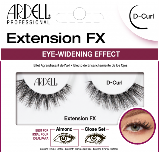 Ardell Lashes Extension FX - D Curl