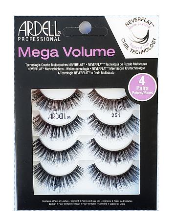 Ardell Professional Mega Volume 4 Pack Lash 251 Multipack