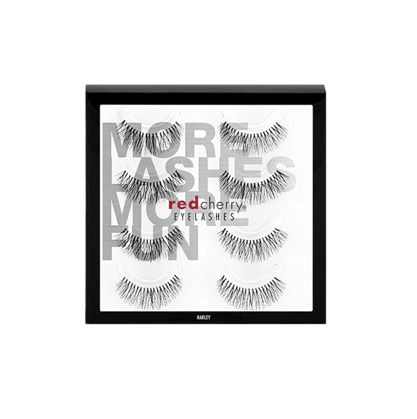 Red Cherry Lashes #213 (HARLEY) - 4 PACK