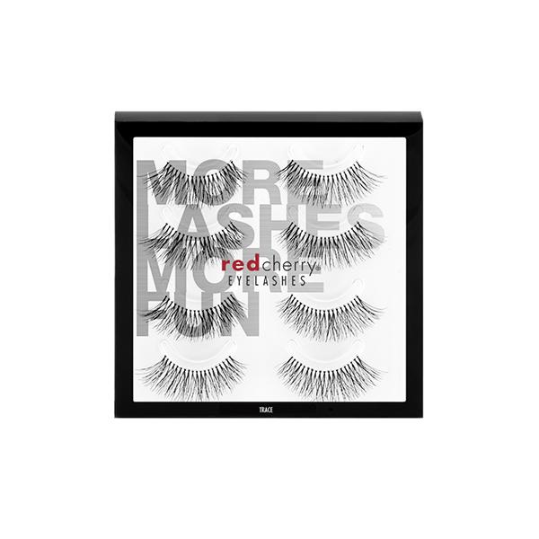 Red Cherry Lashes #217 (TRACE) - 4 PACK