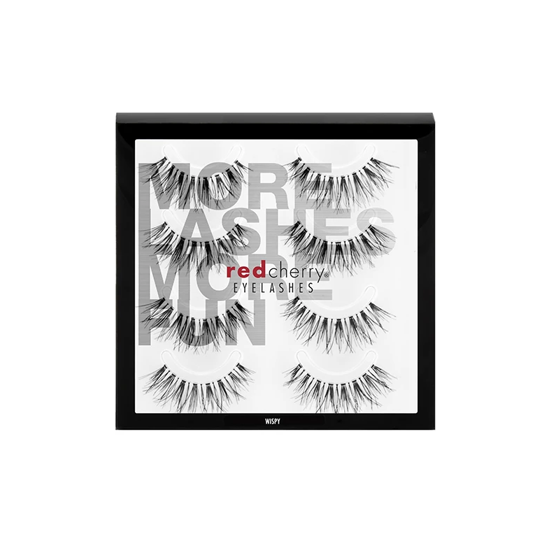 Red Cherry Lashes WSP (WISPY)  - 4 PACK