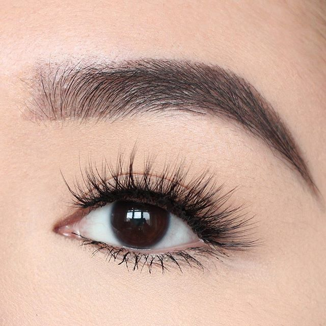 blend perfectly with your natural lashes to ensure it doesn't look plastic or fake