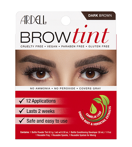 Ardell Brow Tint - Dark Brown (12 Applications)