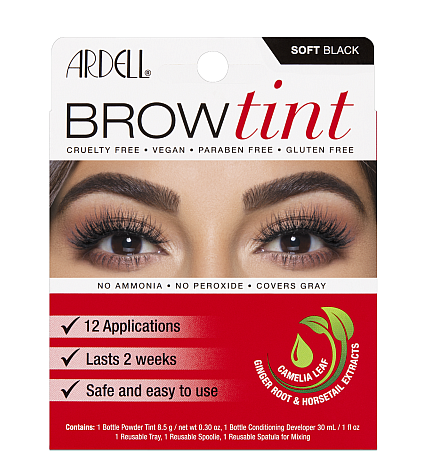 Ardell Brow Tint - Soft Black (12 Applications)