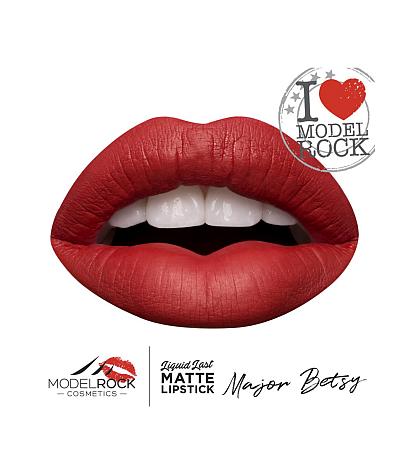 MODELROCK Liquid Last Liquid to Matte Lipstick MAJOR BETSY